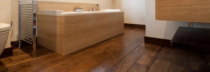 Een houten vloer voor de badkamer, kan dat? | Neerlandia Houten Vloeren
